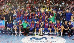 El Barcelona Lassa defenderá el título de la Liga ASOBAL