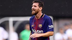 El Barça confía en la magia de Messi para remontar en el Bernabéu