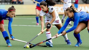 Contundente triunfo de España en el Europeo de hockey