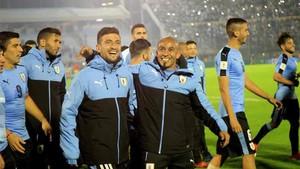 Los futbolistas de Uruguay han iniciado una huelga