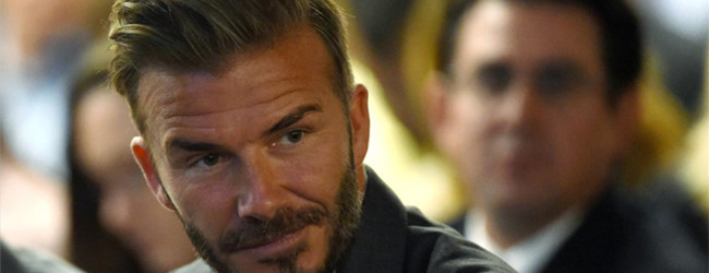 China want Beckham to help breed new generation of football stars