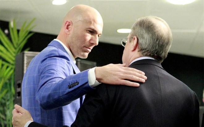 Florentino P�rez intent� 'empaquetar' a Zidane en el Olympique de Marsella