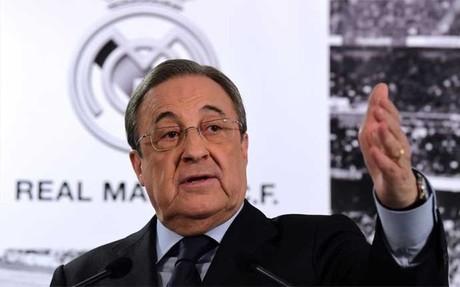 Florentino P�rez, presidente del Real Madrid