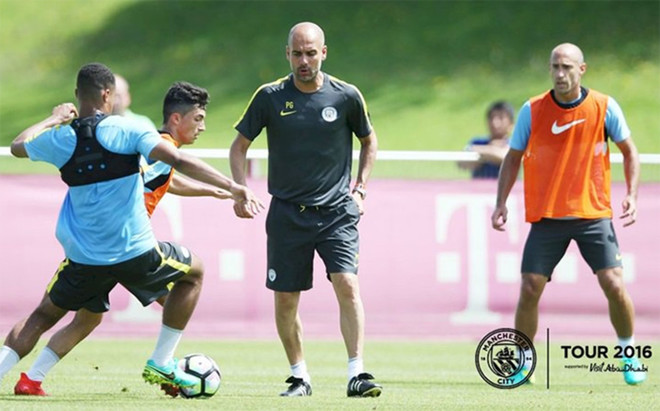 Guardiola tambi�n trabajaintensamente con la cantera en el Manchester City
