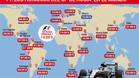 Horarios del GP de Rusia de F1 en el mundo