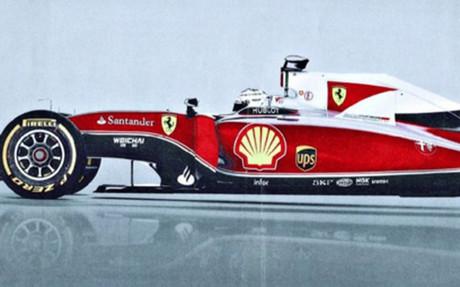 La imagen del nuevo Ferrari
