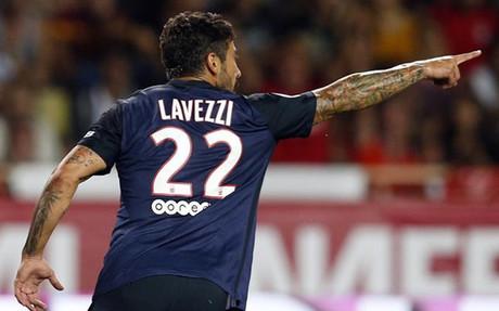 Lavezzi dejar� la liga francesa para ir a jugar a China