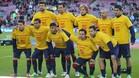 Los jugadores del Barça se acordaron de Vermaelen en su día