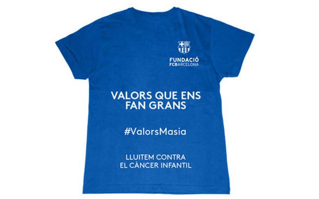 El FC Barcelona se solidariza contra el c�ncer infantil