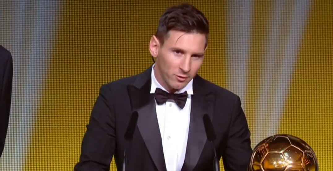 Messi gana su quinto Bal�n de Oro