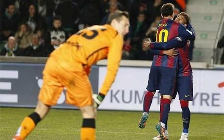 Lineker alucina con la dupla Messi-Neymar