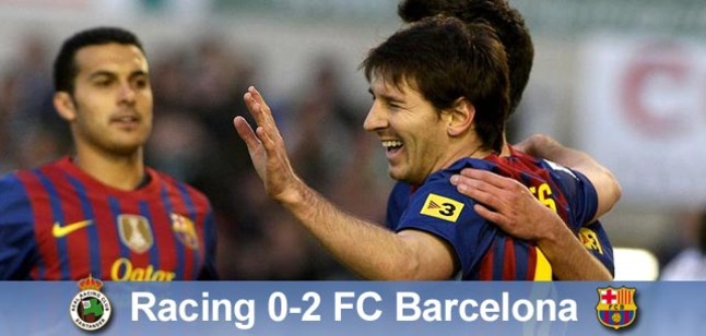 Dos goles de Leo dieron el triunfo al Barça RSS Barça