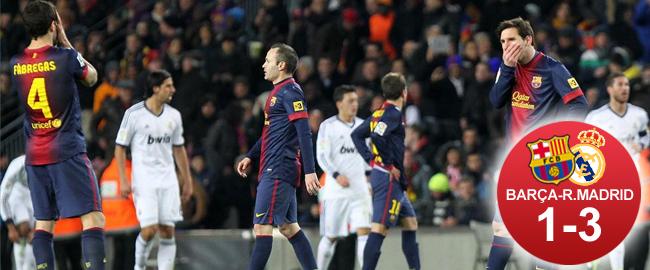 El Madrid borró al Barça de la Copa