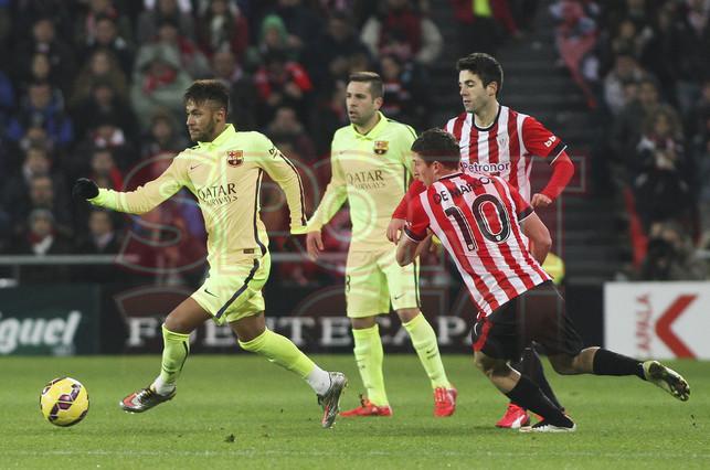 صور : مباراة أتليتيكو بلباو - برشلونة  2-5 ( 08-02-2015 ) 1423435938621