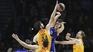 El Barça cayó en el partido de la primera vuelta disputado en Estambul