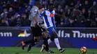 Felipe Caicedo podría estar apurando sus últimas horas como jugador del Espanyol