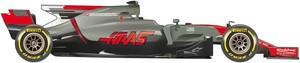 El coche Haas para el Mundial de F1 2017