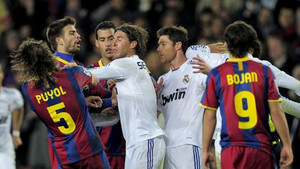 Sergio Ramos perdió los papeles en el inolvidable 5-0 al Madrid de Mourinho