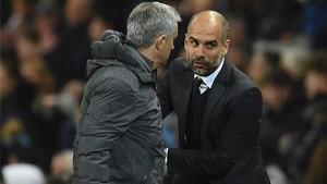 Guardiola valoró el punto sumado ante Mourinho