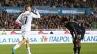 Deulofeu celebra su gol al Atalanta