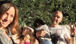 Andrés Iniesta y Anna Ortiz han vuelto a ser padres