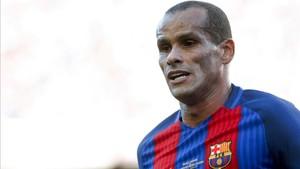Rivaldo, en el Barça Legends del pasado 30 de junio