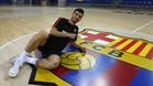 Esquerdinha se muestra ilusionado ante el reto del Barça
