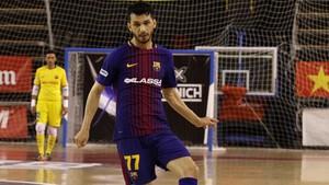 Esquerdinha regresó a la Liga española firmando un doblete