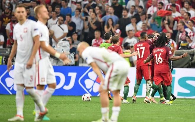 Alegr�a portuguesa y decepci�n polaca al acabar la tanda de penaltis