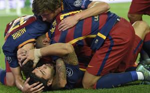 El Barça está intratable como local