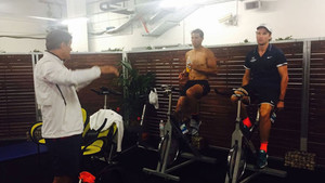 Carlos Moyà ha sido compañero de fatigas de Rafa en Melbourne