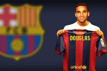 Douglas llega este viernes a Barcelona