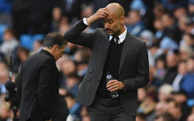 Guardiola reconoce que el City tiene un problema