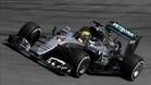 Hamilton ha dominado la primera tanda en Abu Dhabi