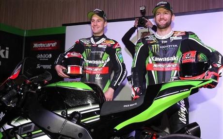 Jonathan Rea y Tom Syke con Kawasaki en Superbikes