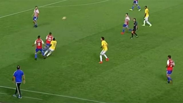 La jugada de Vinicius Jr. que recuerda a Ronaldinho