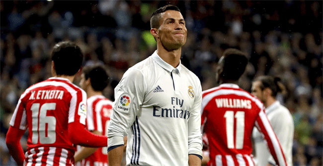 Las ocasiones fallidas de Cristiano frente al Athletic Club