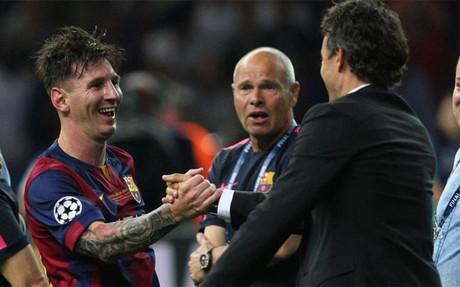 Luis Enrique y Messi deber�n pactar qu� hacer en la Supercopa
