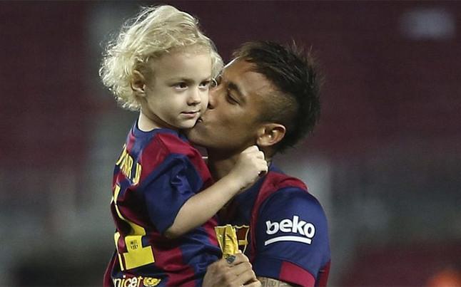 Neymar son: David Lucca da Silva Santos
