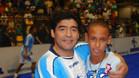 El mensaje de Maradona a 'Ney'