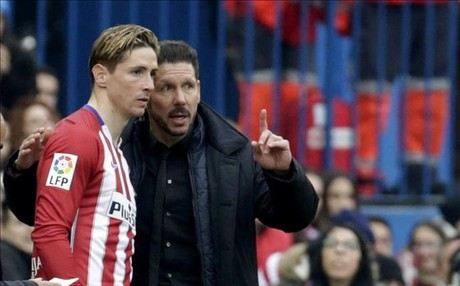 Simeone felicit� a Torres
