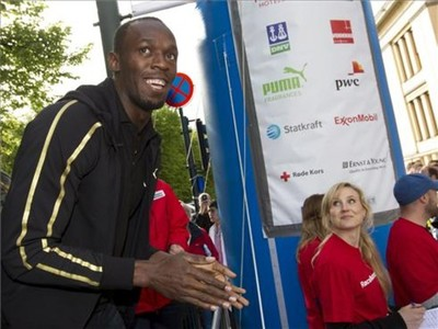 Accidente sin consecuencias para Usain Bolt