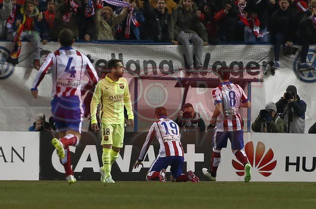 صور : مباراة أتليتيكو مدريد - برشلونة 2-3 ( 28-01-2015 )  1422483215931