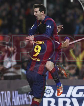 صور : مباراة برشلونة - فياريال 3-1 ( 11-02-2015 ) 1423690253631