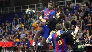El primer equipo prepara la Copa ASOBAL de este fin de semana en León