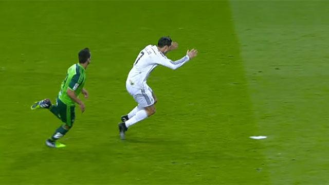 En 2014 el Celta ya vio a Ronaldo dejarse caer en el área