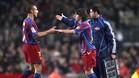 Larsson coincidió con Messi en el Barça