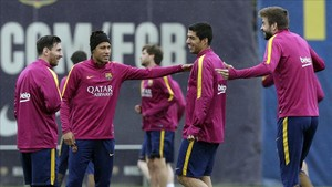 Los pesos pesados del Barcelona son conscientes que se juegan el domingo media Liga
