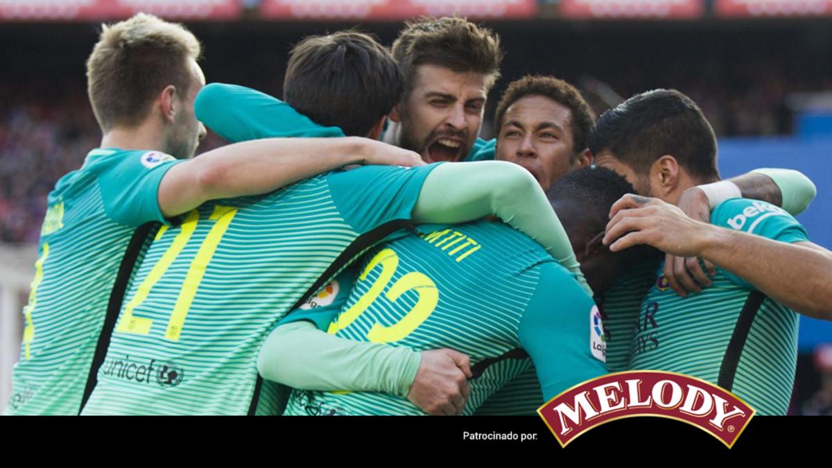 El 1x1 del Barça ante el Atlético de Madrid (ES)