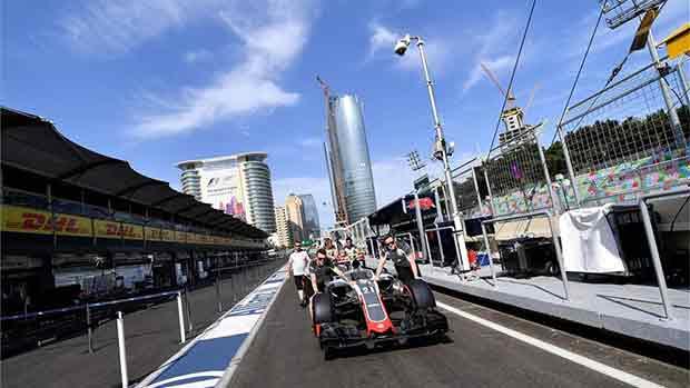 El circuito de Baku del GP de Europa de F1 (ES)
